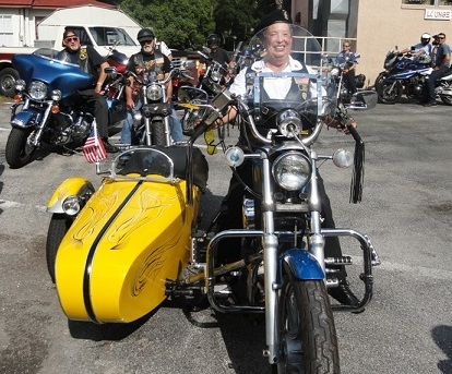 1990 Harley- Davidson 883 with Sidecar