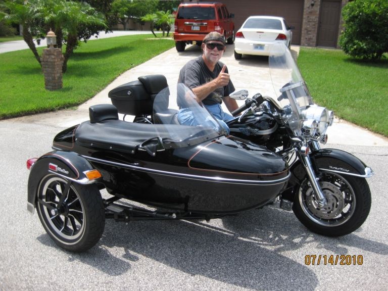 2003 Harley-Davidson Road King with 1991 Harley Classic Sidecar
