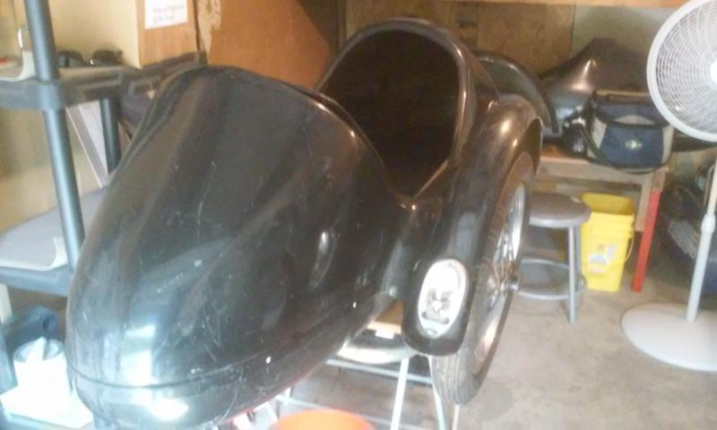 Spirit of America Eagle Sidecar used for sale $1100 rear end