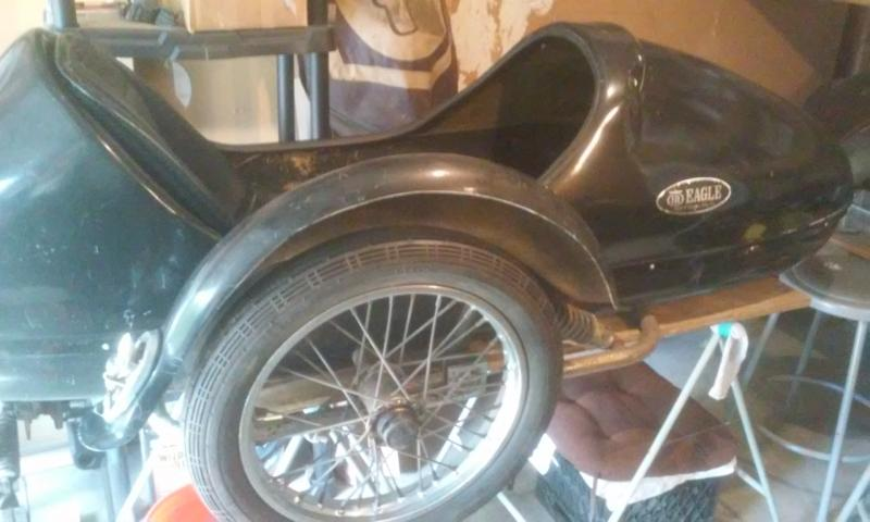 Spirit of America Eagle Sidecar used for sale $1100 black