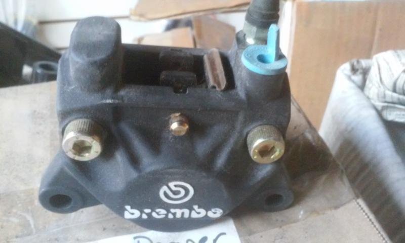 California Sidecar Brembo brake caliper P32F NOS with pads