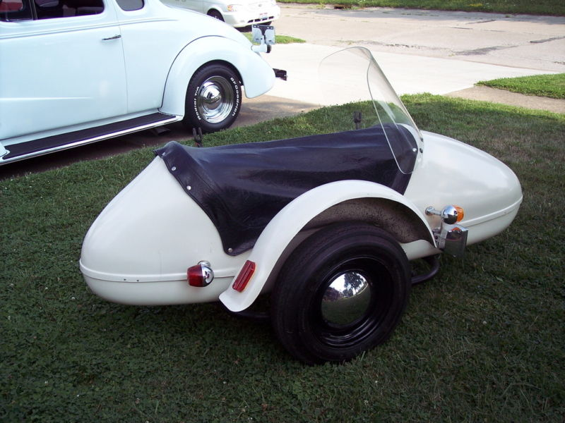 American Easy Rider Sidecar white