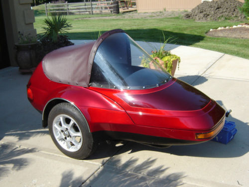 Champion Escort Sidecar tonneau cover