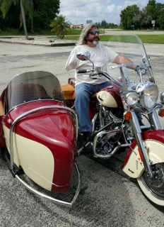 2012 Indian Chief & 2015 Hannigan Indian Heritage Sidecar Left Hand Throttle