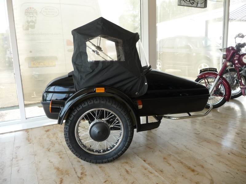 Convertible Top Black Velorex Sidecar 562 562 for sale