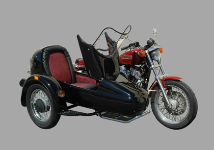 565 Velorex Tour Sidecar with open front