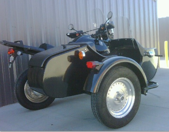 BMW sidecar darkside wheel & tire