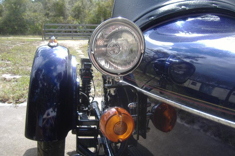 Sidecar headlight kit