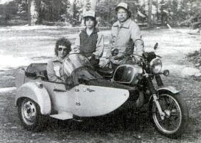 Bob & Monica Loberg inventer of Hitchhiker Sidecar