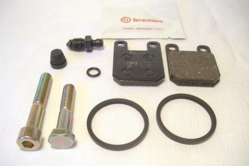 Champion Sidecar & CSC Brembo F04 Brake Caliper Seal Rebuild Kit two Pin Style