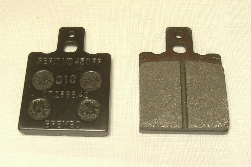 Champion & California Sidecar Brake Pads One Pin Style