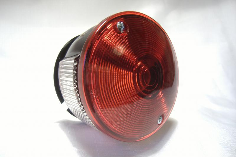 2 function motorcycle sidecar tail light