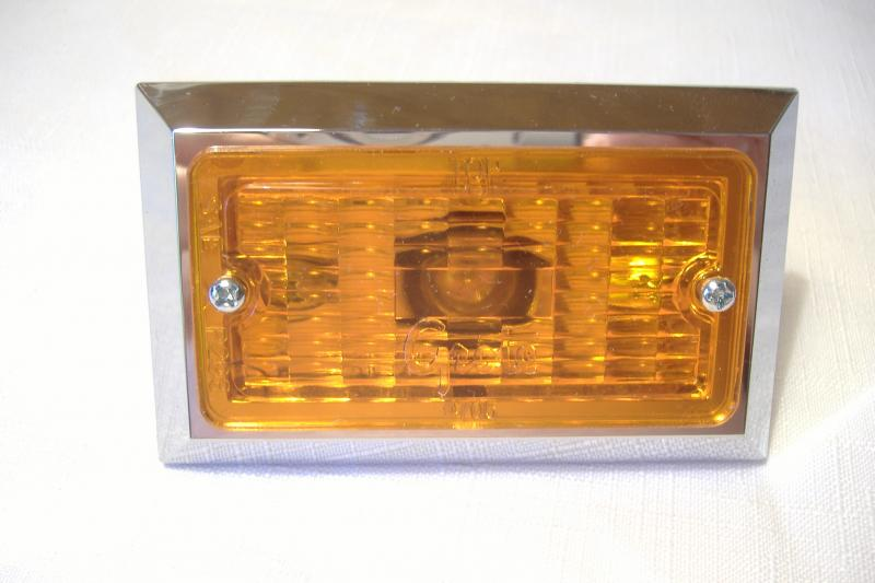 California Sidecar Amber Side Marker Light Friendship I & FS II New