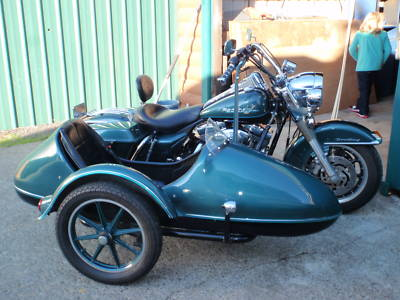 California Sidecar Companion Model with torsion bar