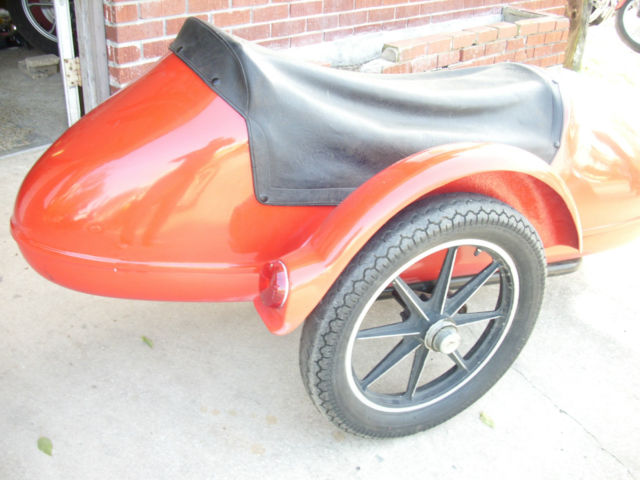 Early California Companion Sidecar with reworked Eagle sidecar body