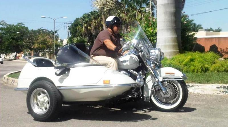 California Sidecar Friendship II & Harler FLHR