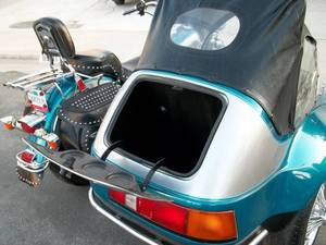 California sidecar friendship trunk lid