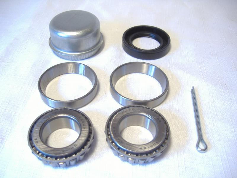 California Sidecar Wheel Bearing Kit & Dust Cover