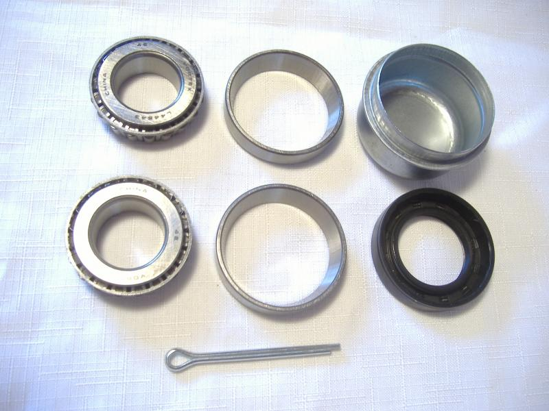 Motorcycle Sidecar Wheel Bearing Kit One Inch Axle