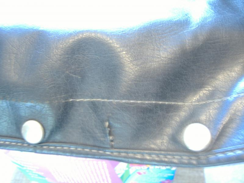 Used California Sidecar Friendship I Convertible Top seam