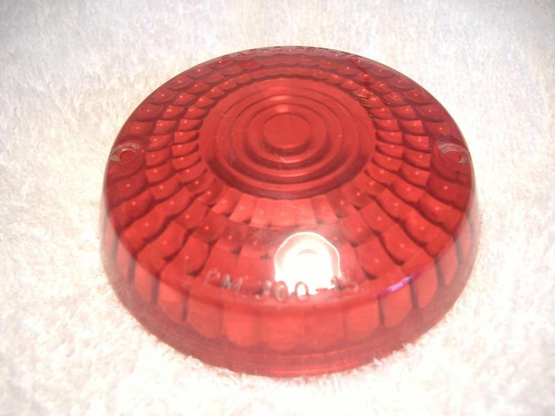 California Sidecar Taillight Red Lens Used