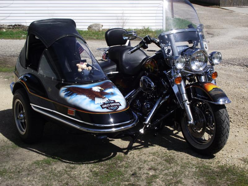 "John ""Snuffy"" & California Sidecar Friendship I & Harley"