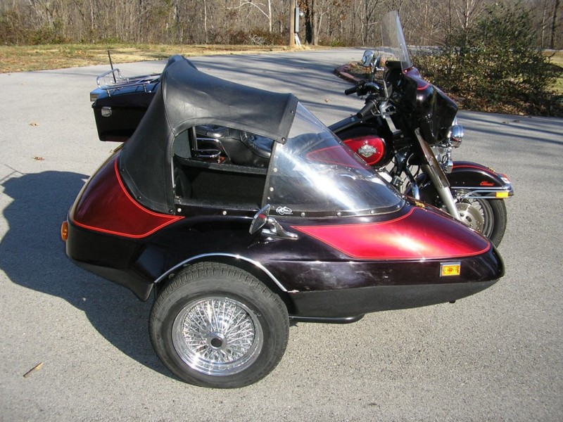Bikes With Sidecars For Sale California Sidecar FS I Mirror