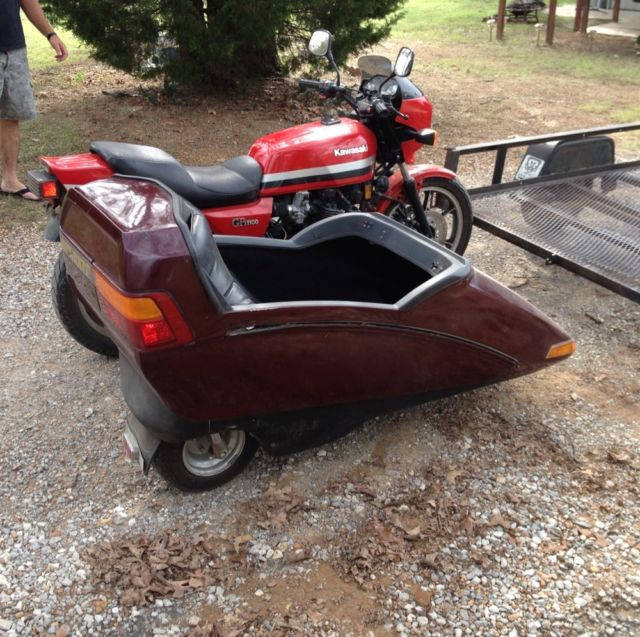California Sidecar made Flexit Sidecar red