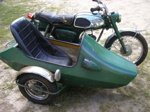 California Sidecar Tag-A-Long Model
