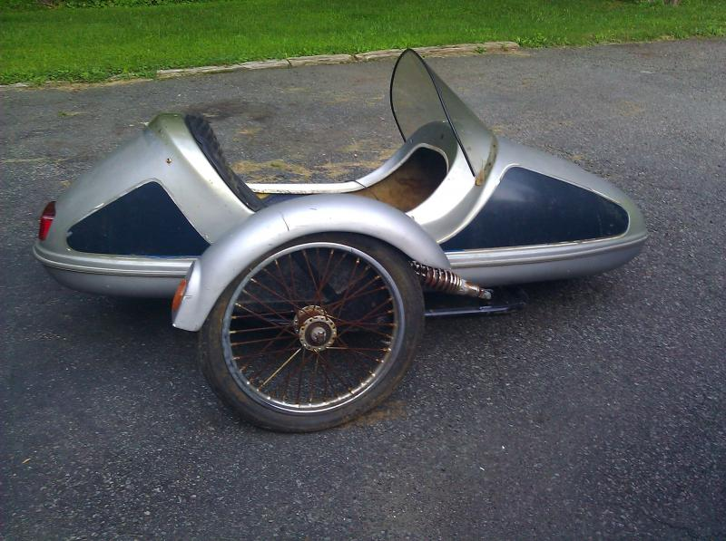 Cyclemotive sidecar wheel