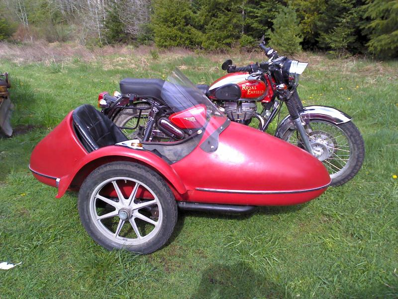 California Companion Sidecar
