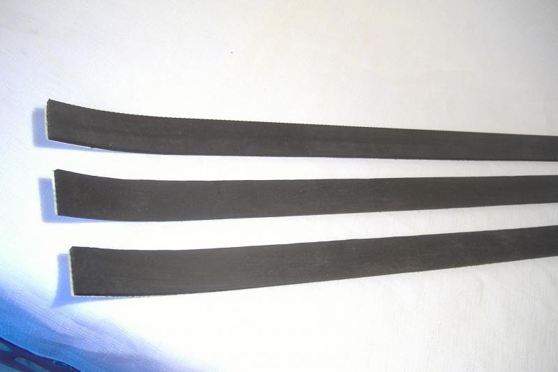California Sidecar frame to fiberglass body rubber damper strips
