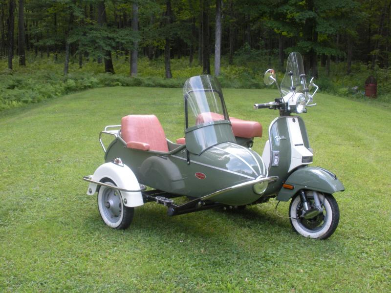 Stella Scooter & Cozy Sidecar