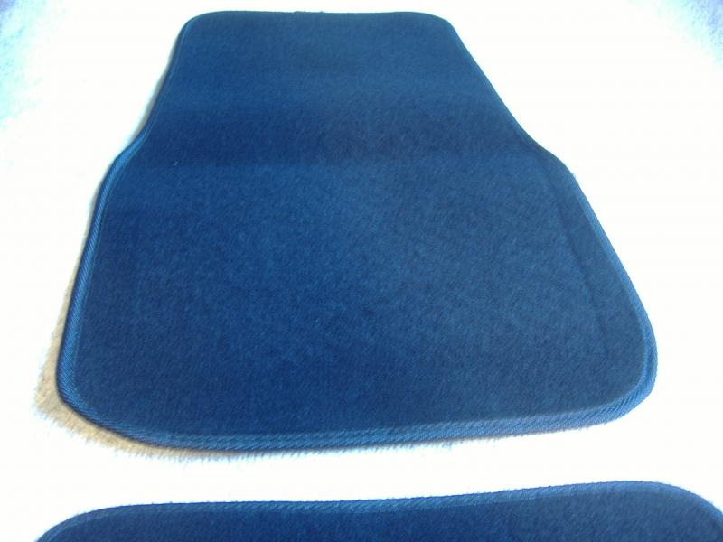 Motorcycle Sidecar Floor Mat Front Black Carpet