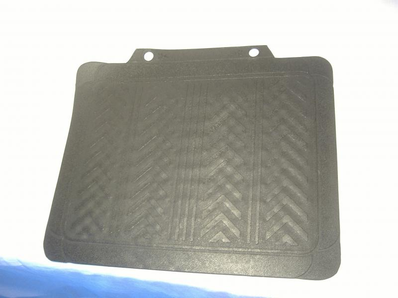 Motorcycle Sidecar Rubber Floor Mat Rear Trunk Black