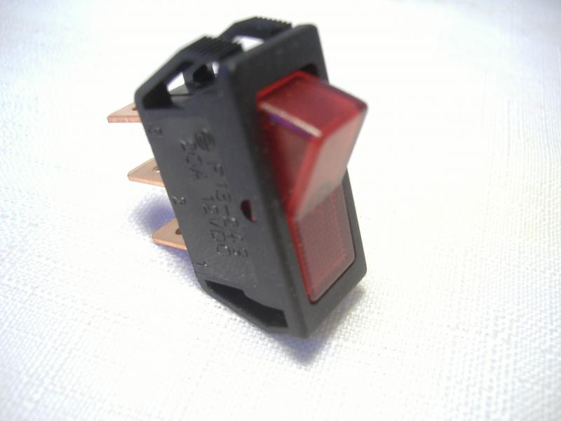 California Sidecar Red Driving Light Switch Replacement Dash