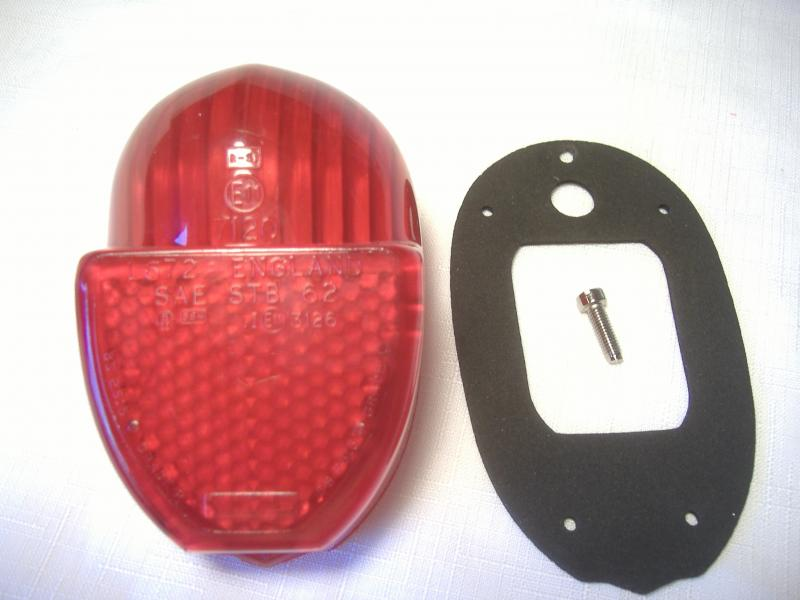 Spirit of America Eagle Sidecar Taillight Lens New