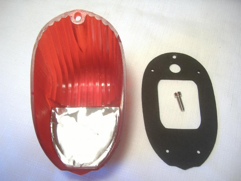 Spirit of America Eagle Sidecar Taillight Lens New back