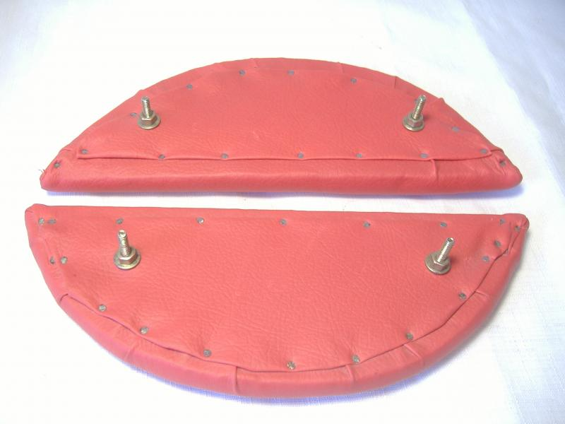 Inder Sidecar Armrest Red bottom side mounting screws
