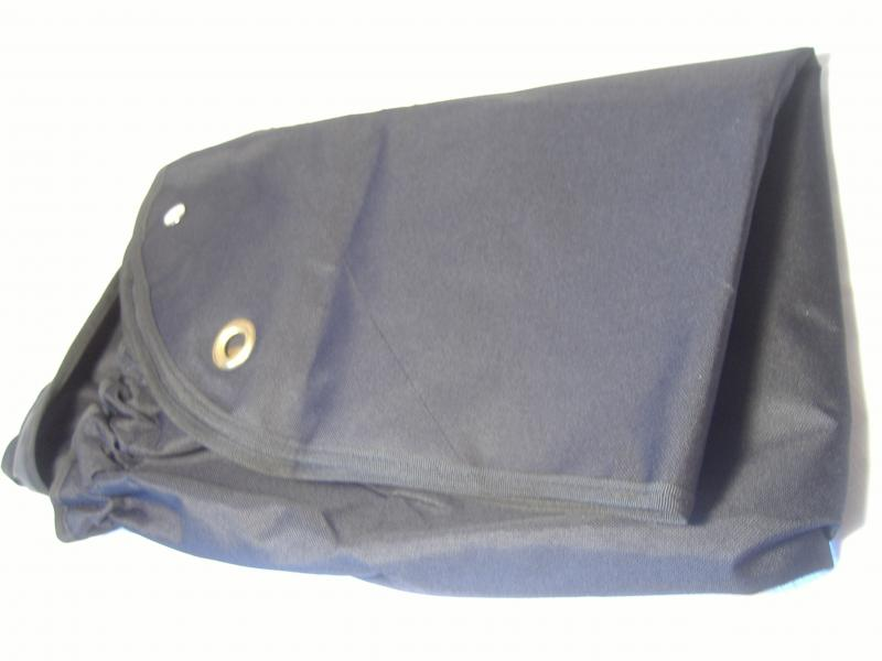 Velorex 562 and 563 sidecar tonneau cover black