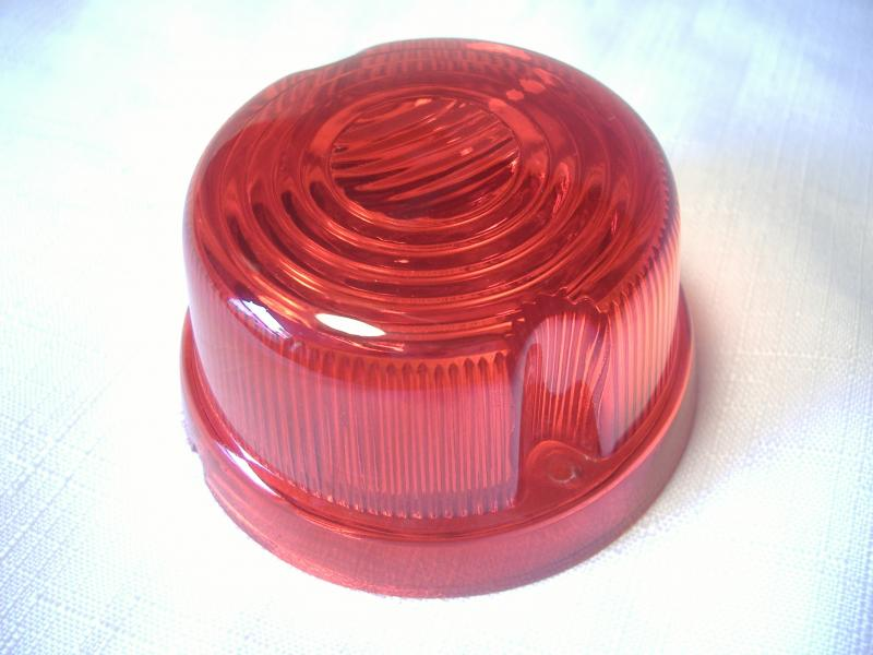 Cozy Inder Sidecar Red Taillight Lens Replacement Motorcycle