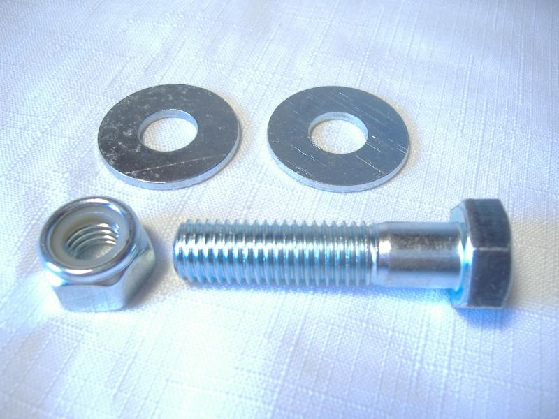M12-1.5 Motorcycle sidecar u-clamp mount bolt