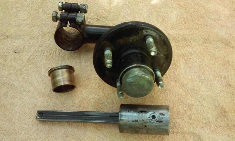 California Sidecar Friendship I & II Torsion Arm Wiyh Brass Bushing