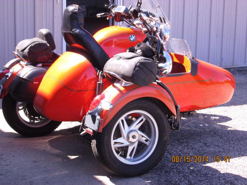 Dan Browning 1998 BMW R1200C and Home made Sidecar Ohio