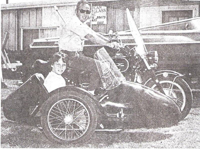 American Easy Rider Sidecar Company Owner and son