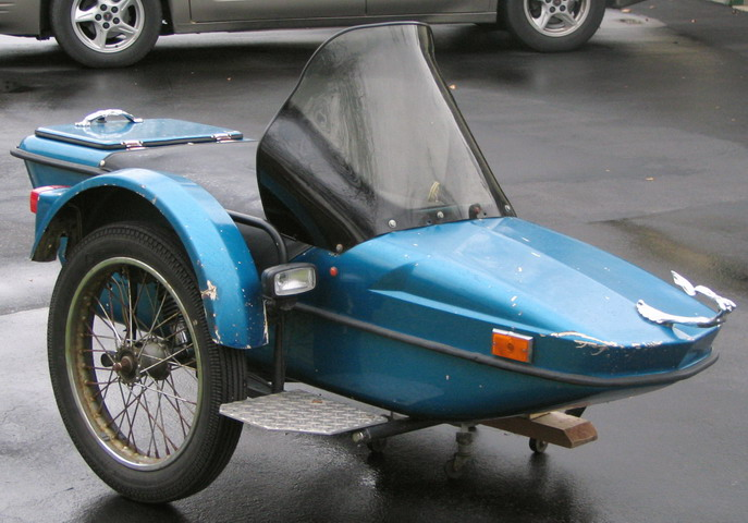 Hitchhiker Sidecar 1974 style