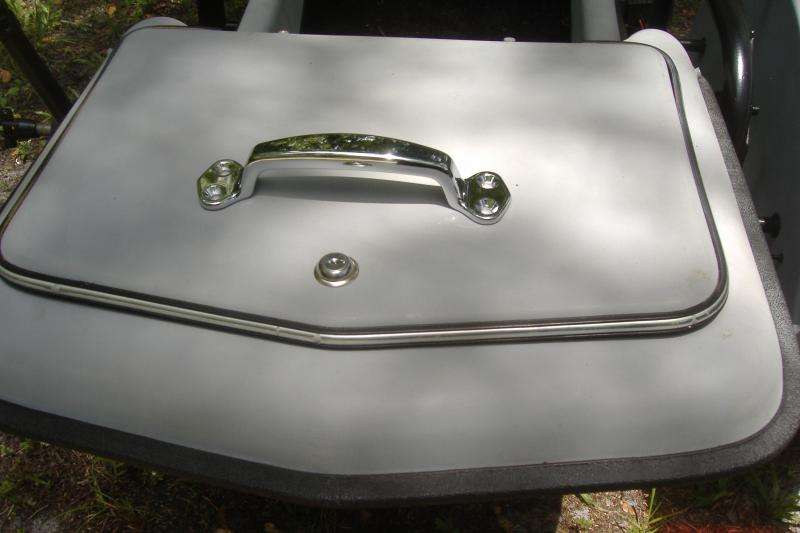 Hitchhiker Sidecar Trunk Lid Handle Motorcycle