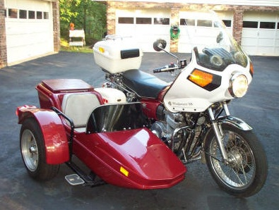 Red Hitchhiker sidecar