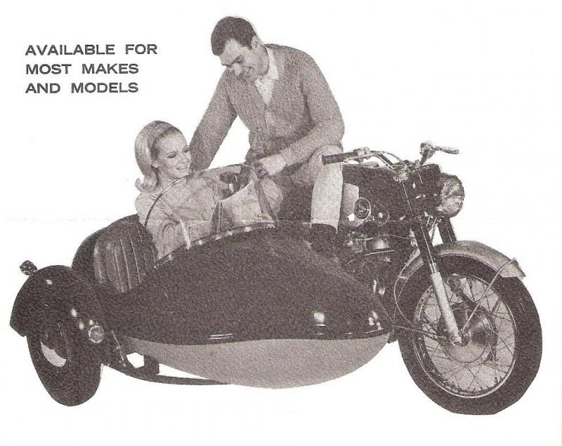 International Sidecar sales flyer picture