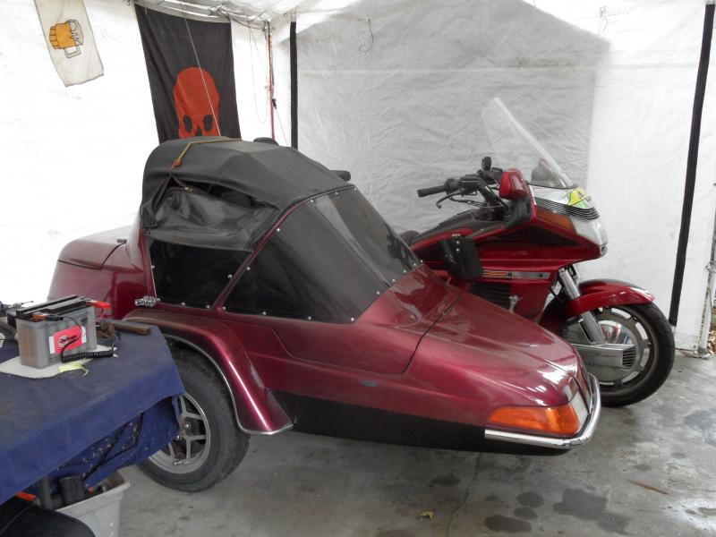Honda Goldwing & California Sidecar Friendship III